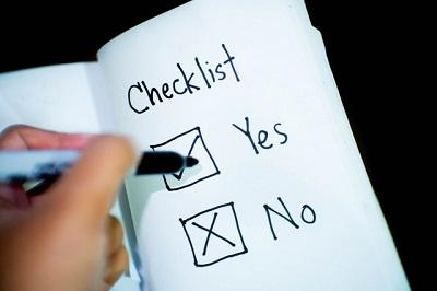 Checklist Autovakantie Autobedrijven Totaalnl